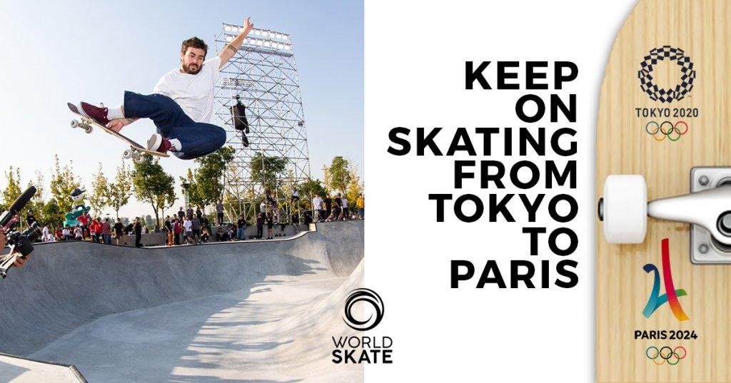 PAris 2024 Skateboarding